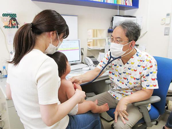 画像:乳幼児健診イメージ